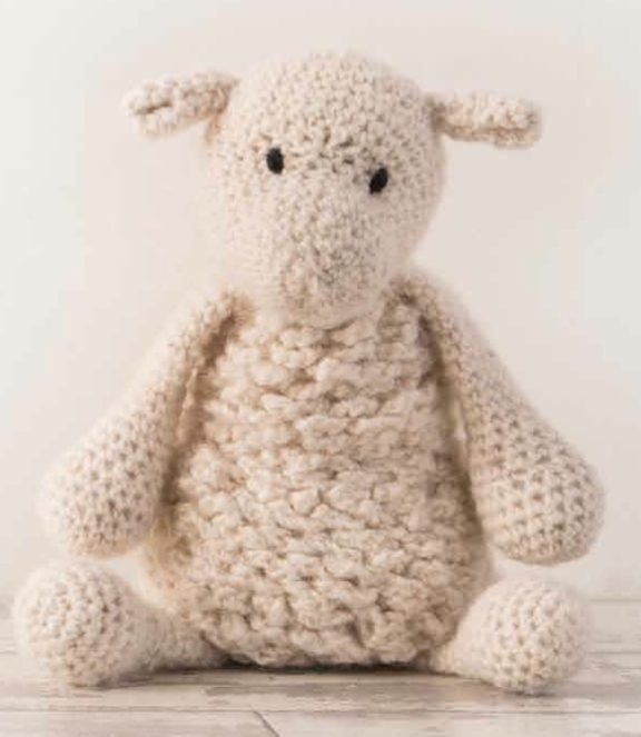 crochet sheep