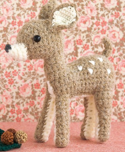 amigurumi crochet deer
