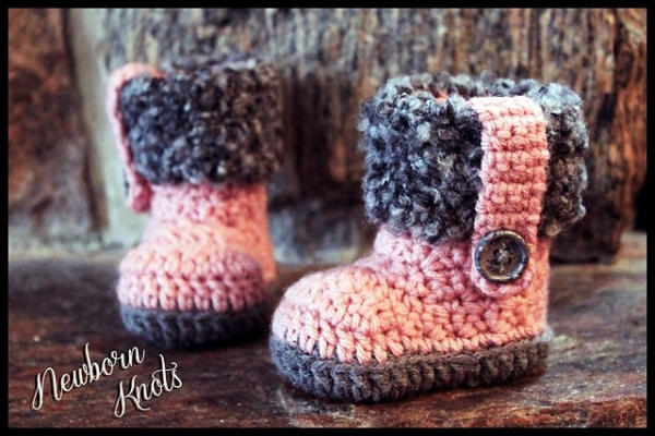 Unisex Baby Booties Free Crochet Pattern : Crochet Pattern Sale and Giveaway