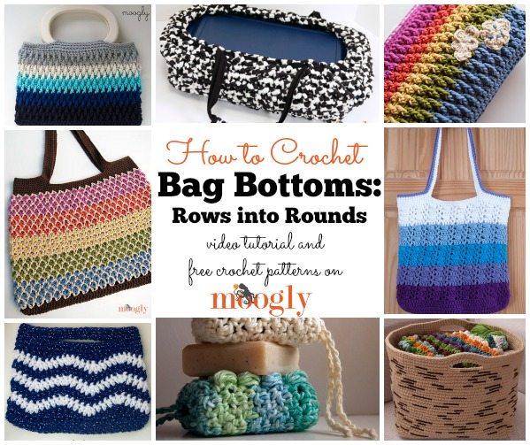 crochet bag bottoms