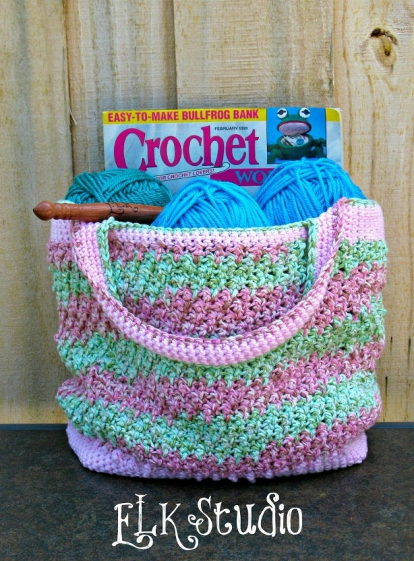 crochet bag pattern 600x812 Link Love for Best Crochet Patterns, Ideas and News