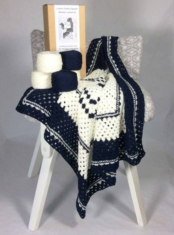 crochet blanket kit