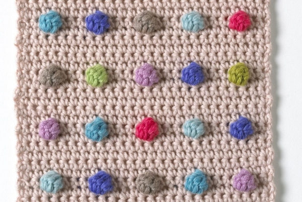 Crochet Stitches Bobble : Celebrate Texture with these 13 Bobble Stitch Crochet Patterns