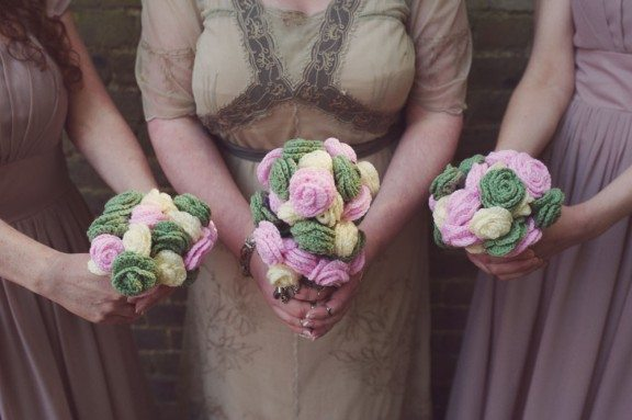 crochet bouquets