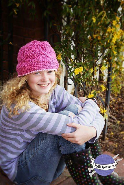 crochet cancer beanie pattern