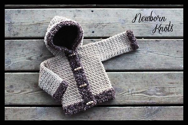crochet cardigan baby pattern