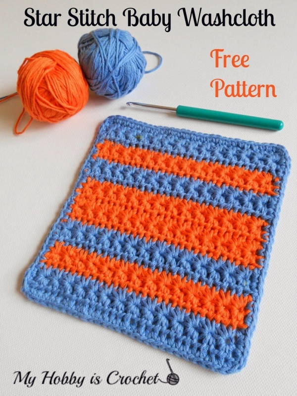 Free Crochet Star Dishcloth Pattern : Link Love for Best Crochet Patterns, Ideas and News