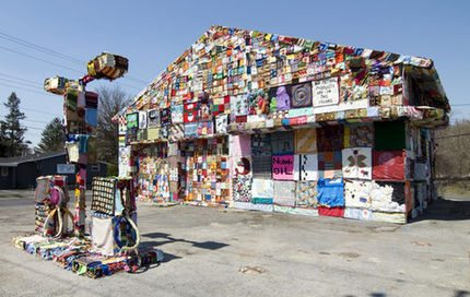 crochet gas station Important Craft Book: Craftivism by Betsy Greer
