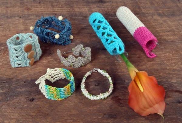 crochet jewelry designer