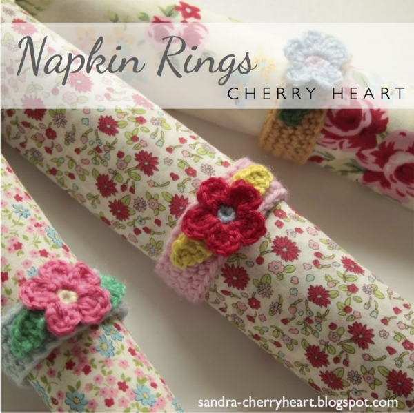 crochet napkin rings 600x599 Link Love for Best Crochet Patterns, Ideas and News