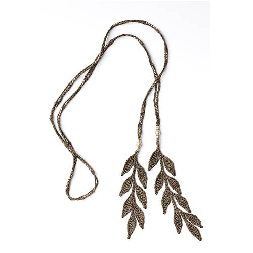 crochet necklace ronci