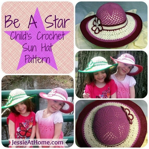 crochet star hat pattern