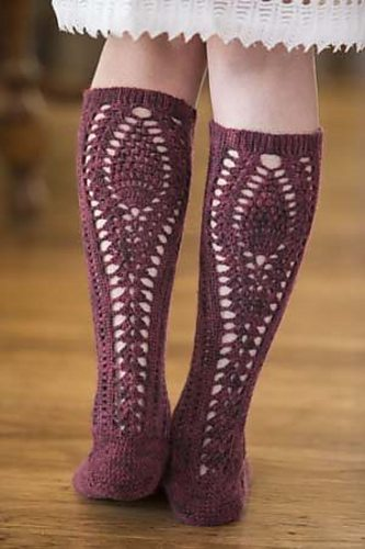 crochet stockings pattern