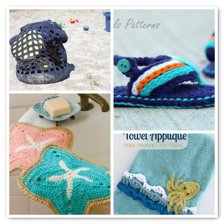 25 Sizzling Summer Crochet Patterns Crochet Patterns How To