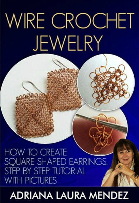 crochet wire earrings pattern Sponsor Love: Learn To Crochet Wire Jewelry