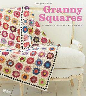 granny squares crochet book