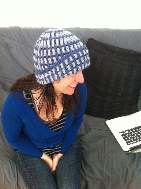 unisex crochet hat kit
