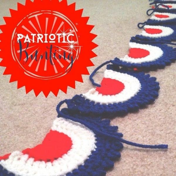 sapphire bunting crochet