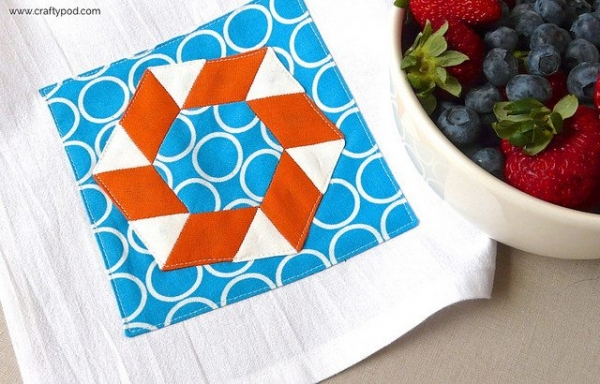 tea towel craft