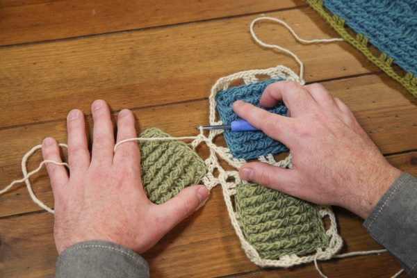 crochet class joining