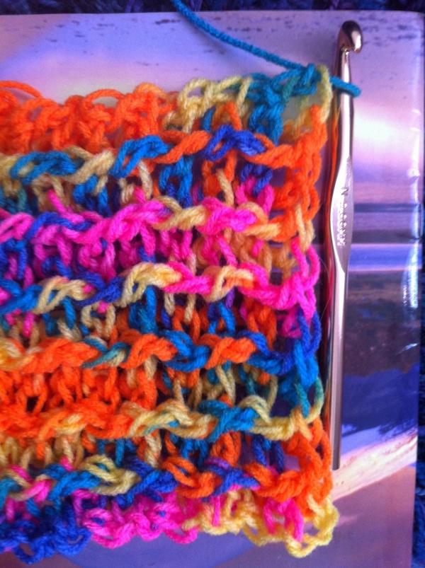 post stitch crochet square