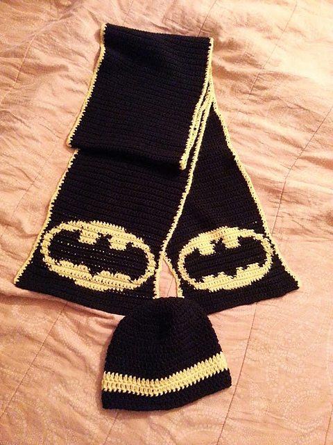 batman crochet pattersn