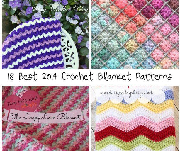 18 Best Crochet Blanket Patterns Crochet Patterns How To