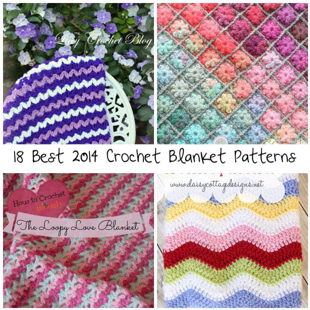 Best Crochet Patterns : 18 Best Crochet Blanket Patterns