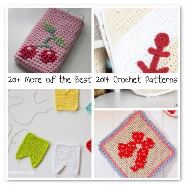 best crochet patterns 600x600 Crochet Blog Roundup: July in Review