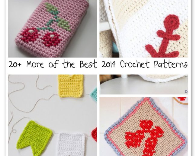 20 More Of The Best 2014 Crochet Patterns Crochet Patterns How
