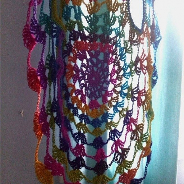 bethshannane instagram crochet waistcoat 600x600 Crochet Instagrammed