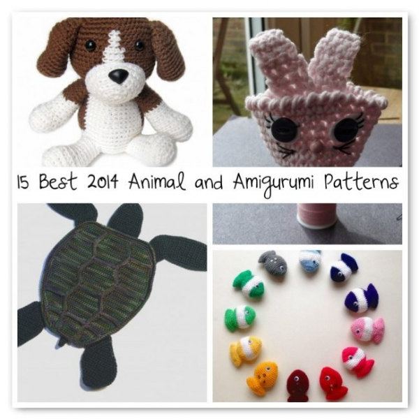 crochet animal patterns 600x600 Crochet Blog Roundup: July in Review