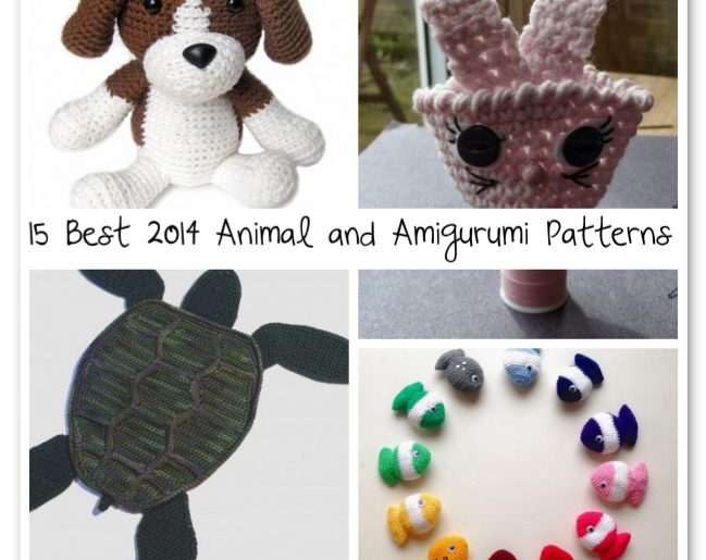 15 Best 2014 Animal And Amigurumi Patterns Crochet Patterns How