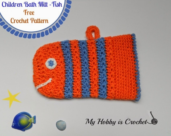 crochet bath mitt 600x477 Link Love for Best Crochet Patterns, Ideas and News