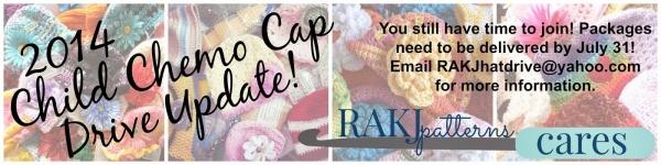 crochet chemo cap donation