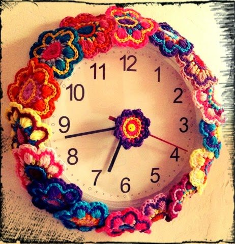 crochet clock Link Love for Best Crochet Patterns, Ideas and News