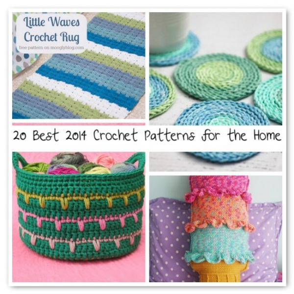 crochet home patterns 600x600 Crochet Blog Roundup: July in Review