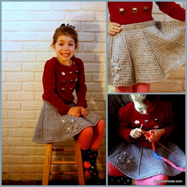 crochet skirt pattern 600x600 Link Love for Best Crochet Patterns, Ideas and News