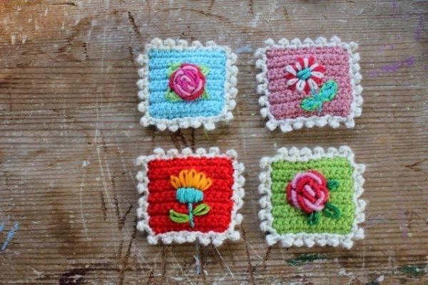 crochet stamp 600x400 Link Love for Best Crochet Patterns, Ideas and News
