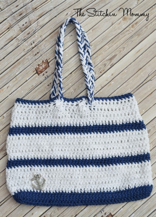 crochet tote pattern 600x831 Link Love for Best Crochet Patterns, Ideas and News