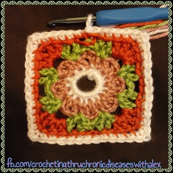 crochetingthroughchronicdiseases instagram crochet square