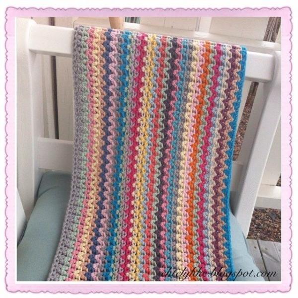 ektelykke instagarm crochet blanket