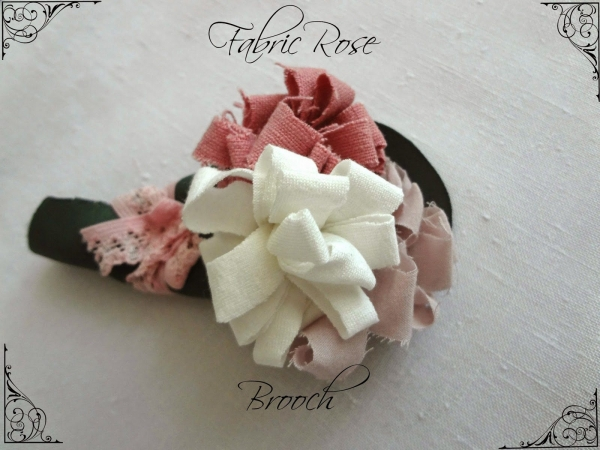 fabric rose tutorial