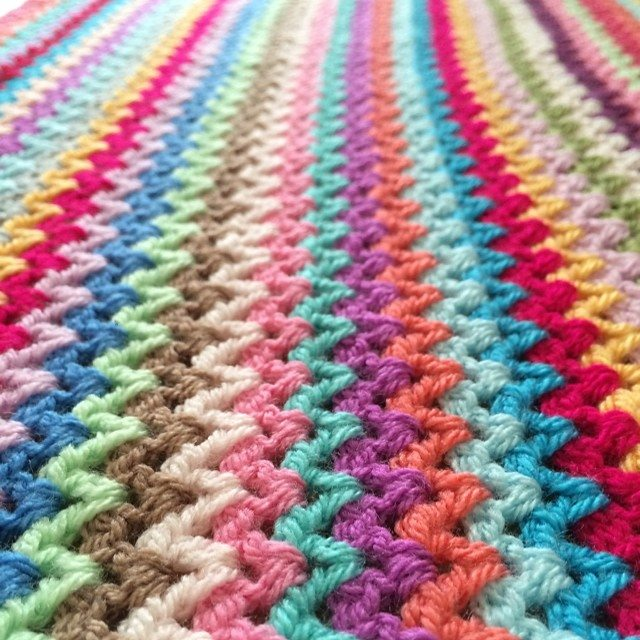 forever__autumn__ crochet blanket stitches
