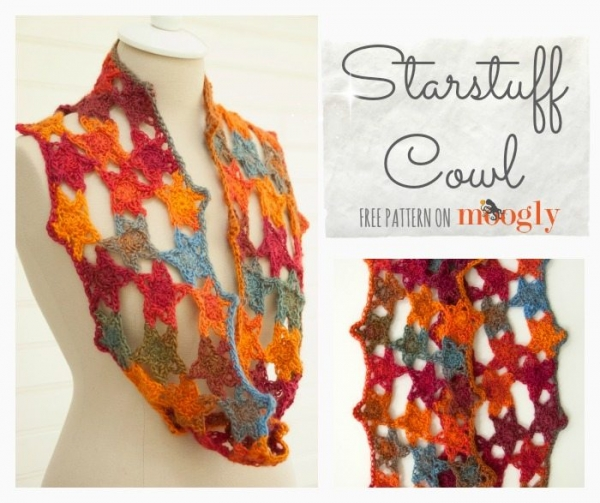 free crochet cowl pattern 600x503 Link Love for Best Crochet Patterns, Ideas and News