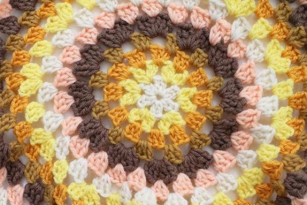granny circle crochet