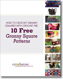 granny square crochet book