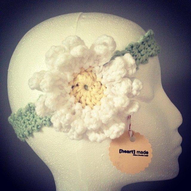 heartmadebeanies crochet flower