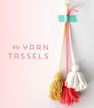 how to make a yarn tassle
