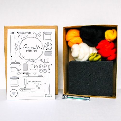 needle felt sushi kit